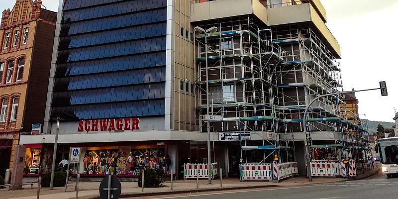 """(Fast) alles im Zeitplan beim """"Marktplatz"""" im Kaufhaus Schwager"""