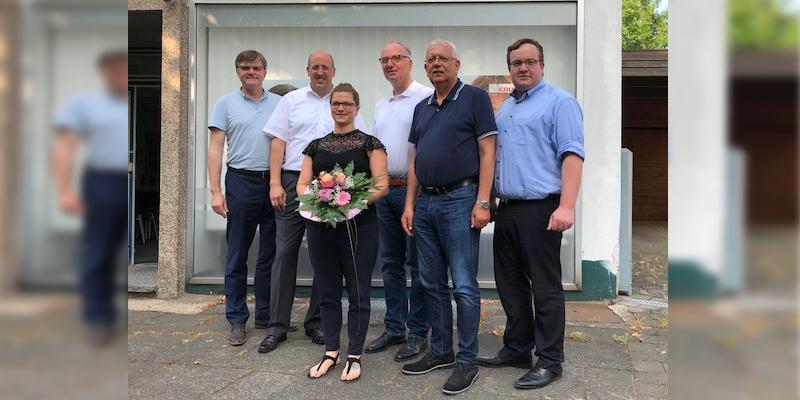 CDU begrüßt neue Kreisgeschäftsführerin - Friederike Bremeyer tritt die Nachfolge von Andreas Lueddecke an